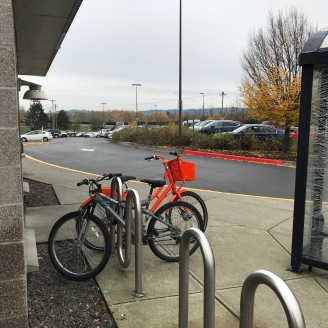 Bike at Park and Ride